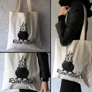 Brown bag with kettel logo